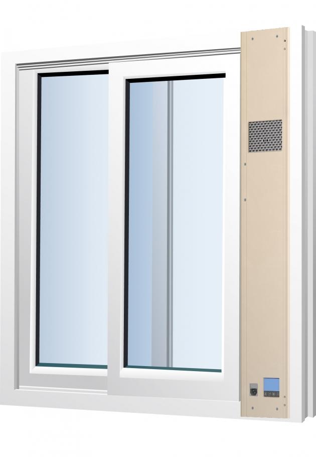 窗型新風清淨機 PW-101 2